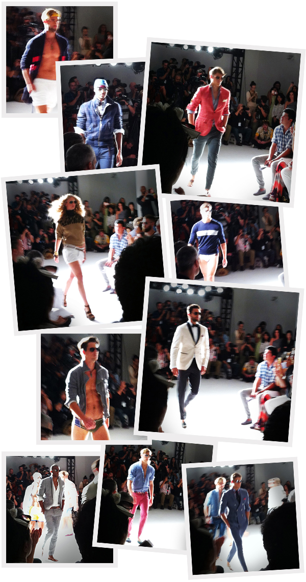 snapshots from Michael Bastian's Spring, 2013 collection