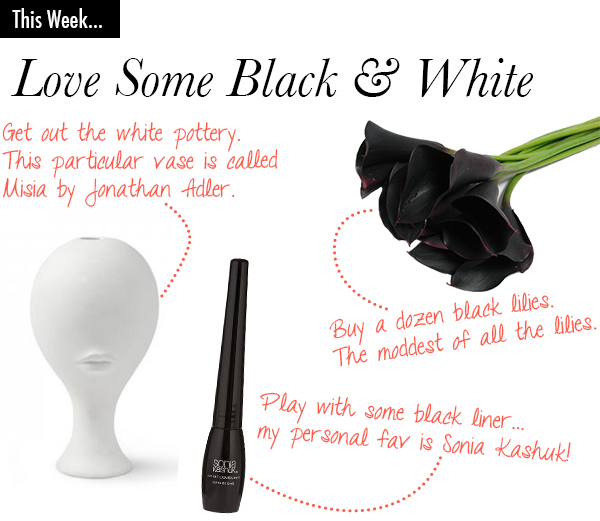 This Week: Love Some Black & White | Secrets of a Belle
