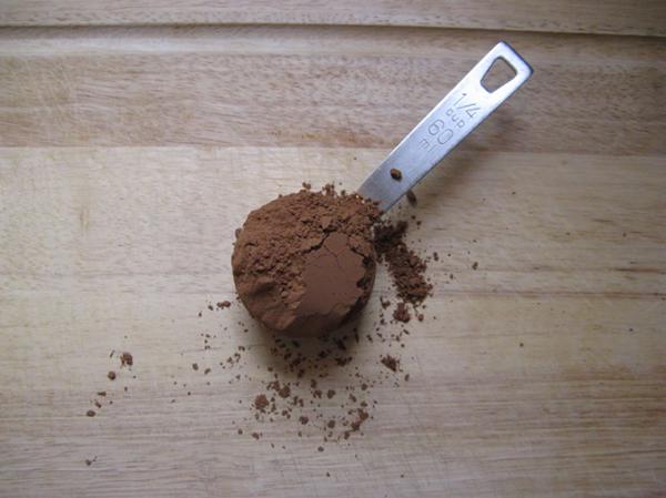 quarter cup cocoa