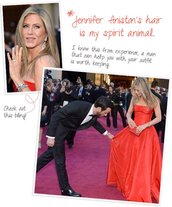 Jennifer Aniston at the Oscars