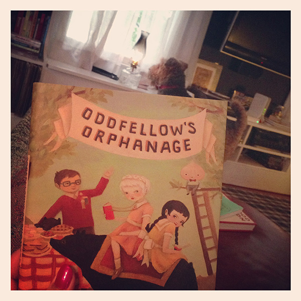 Weekend Reading: Oddfellows Orphanage by Emily Winfield Martin