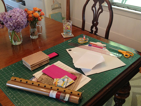 make your own stationery, supplies