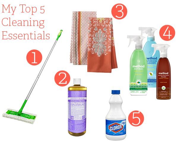 top-5-cleaning-essentials