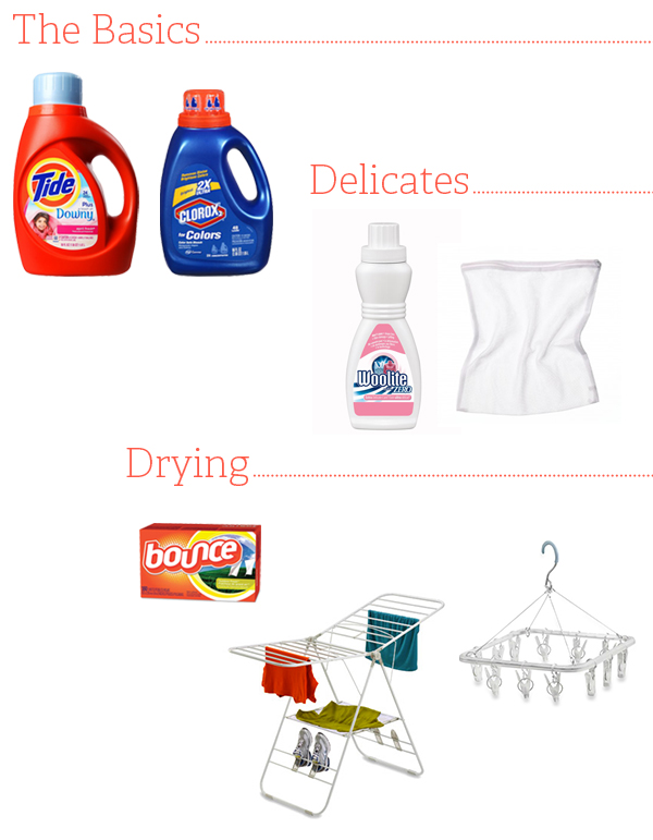 Domestic Wannabe: Laundry Essentials
