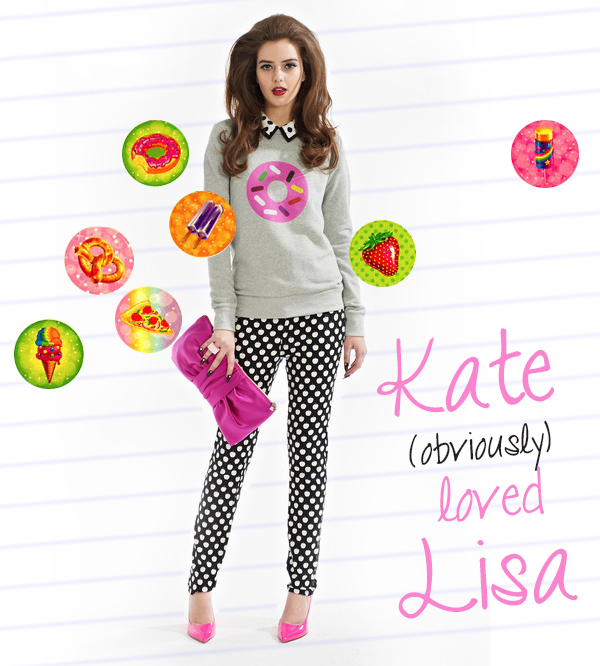 Kate Spade (obviously) Loved Lisa