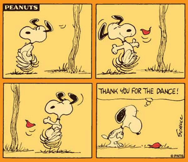 Snoopy's Fall Dance