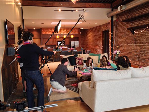 HGTV Handmade Behind-the-Scenes | Hannah & Husband
