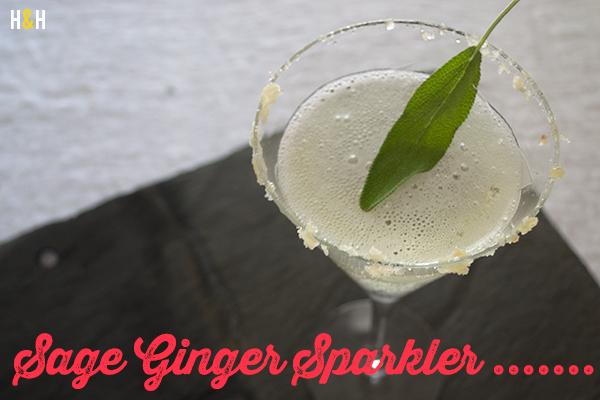 Sage Ginger Sparkler | Hannah & Husband