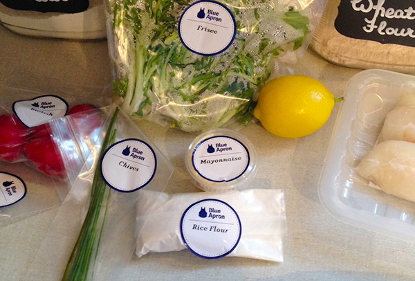 Blue Apron | Hannah & Husband