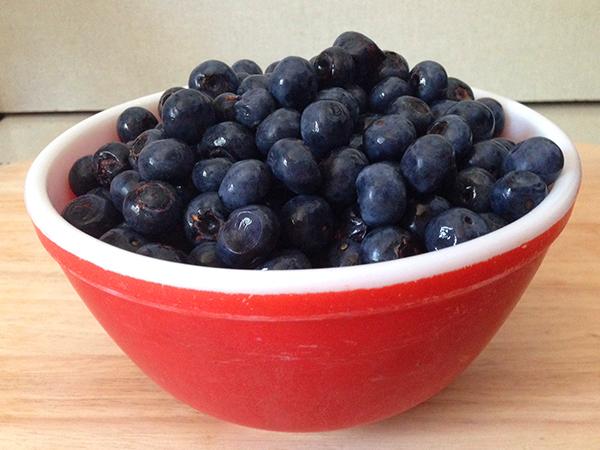 Happy Blueberry Season!   Hannah & Husband