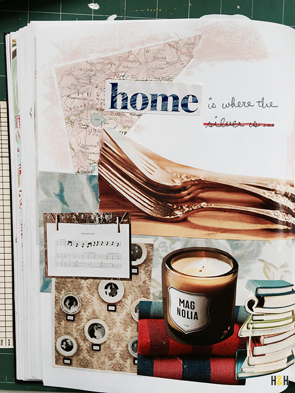 """""""Home is where..."""" from the sketchbook of Hannah & Husband"""