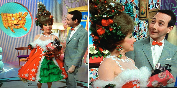 Miss Yvonne in Pee-Wee's Playhouse Christmas Special