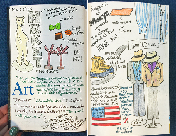 Hannah's NYC Sketchbook | Hannah & Husband
