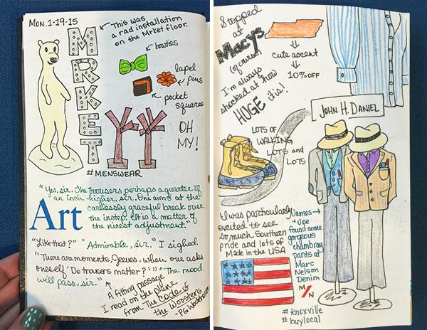 Hannah's NYC Sketchbook | Hannah & Husband