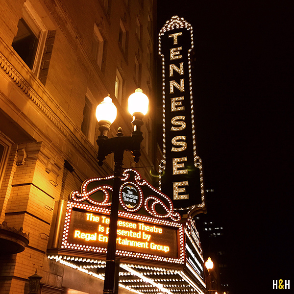 Tennessee Theatre | Hannah & Husband