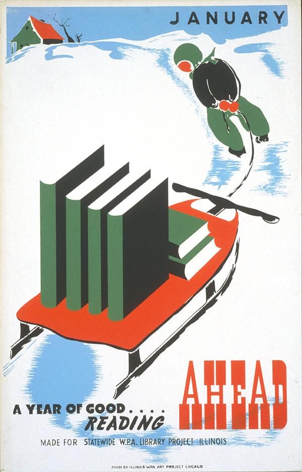 WPA January Reading Poster