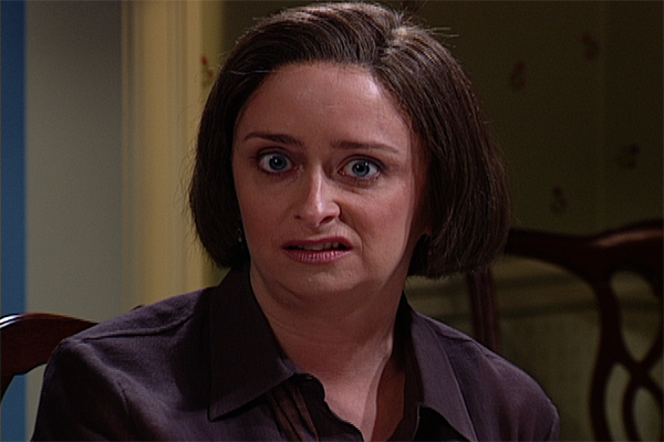 Rachel Dratch as Debbie Downer on SNL