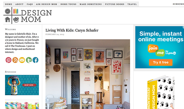Caryn Schafer on Design Mom