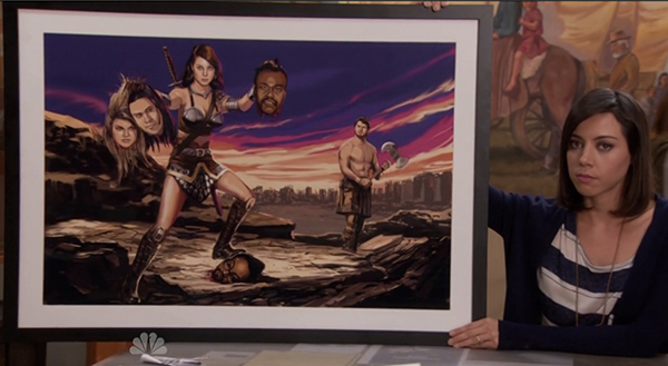 Parks and Recreation | April & the Black Eyed Peas
