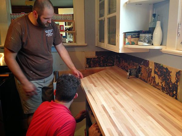 The Kitchen Renovation | Hannah & Husband