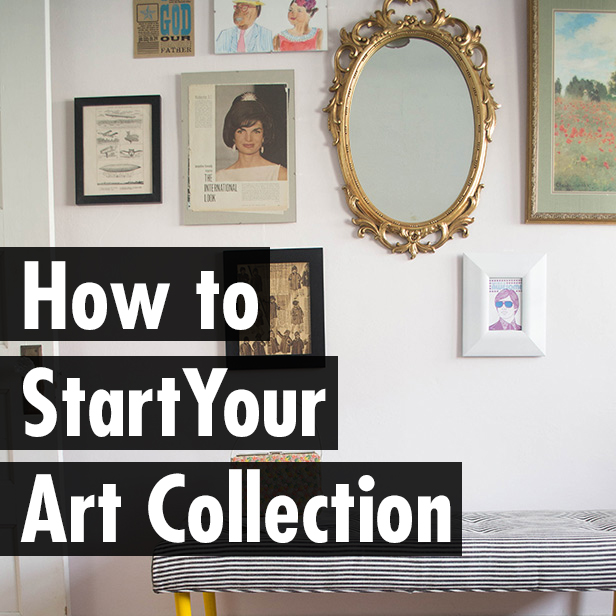 How to Start Your Art Collection | Hannah & Husband