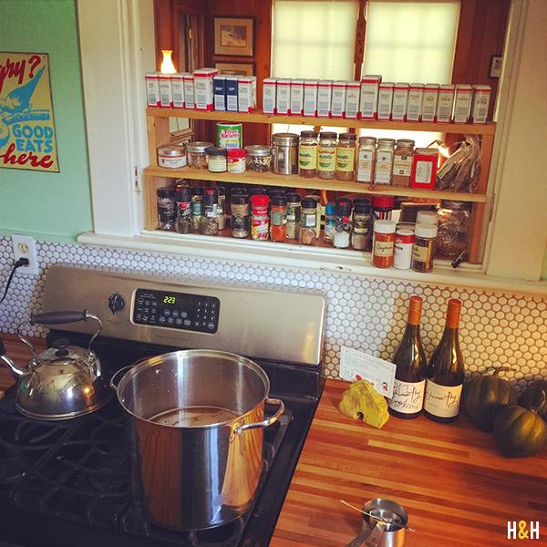Kitchen Storage Tips | Hannah & Husband