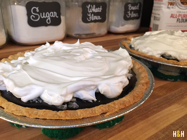 Nannie's Chocolate Pie Recipe | Hannah & Husband
