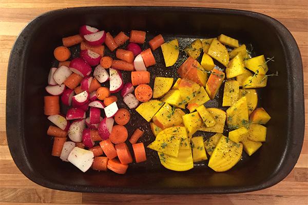 How to Roast Vegetables (2 Ways) | Hannah & Husband