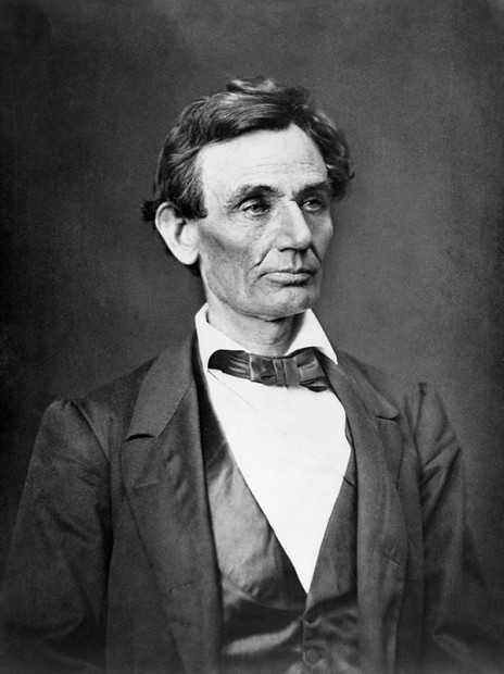 Abraham Lincoln before his beard and his presidency.
