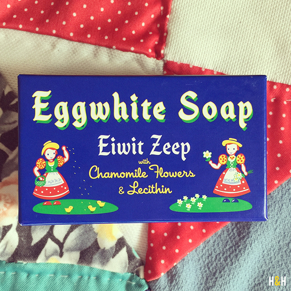 Eggwhite Soap   Hannah & Husband