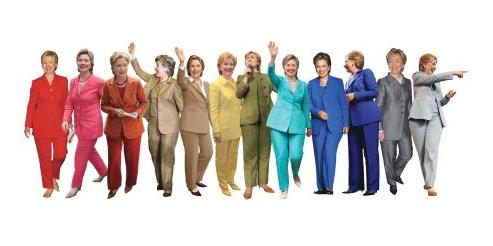 Reddit: Hillary Clinton Pantsuit Rainbow
