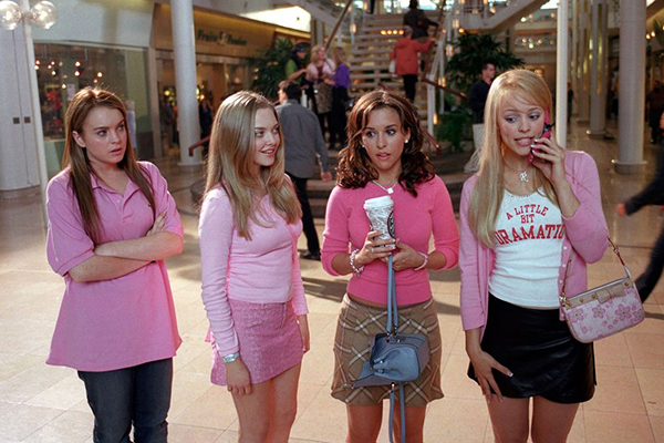 Mean Girls wearing pink.