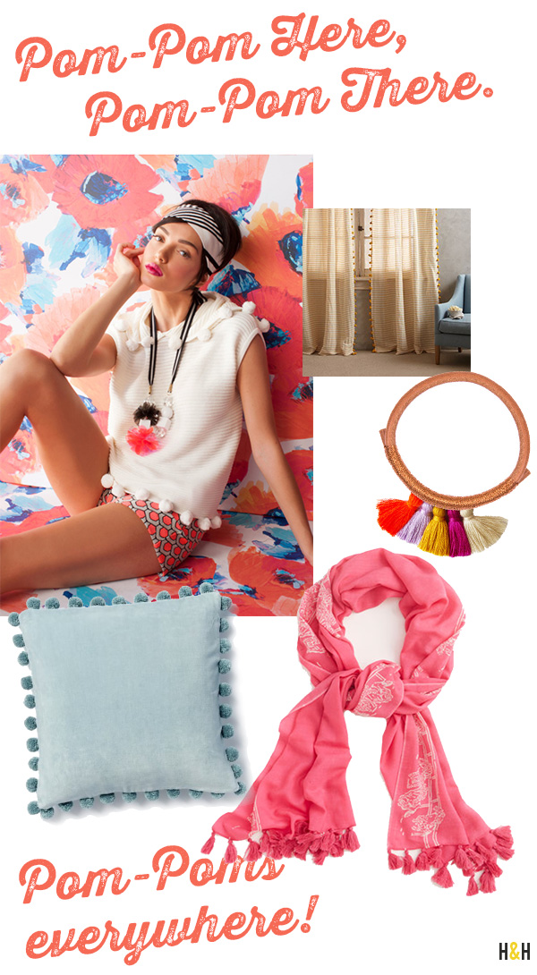 Clockwise from Top Left: Trina Turk  /  Anthropologie  /  Nima Leather Tassel Bracelet from Krysos + Chandi  /  Vineyard Vines Kentucky Derby Collection  /  West Elm