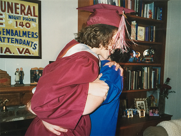#tbt High School Graduation | Hannah & Husband