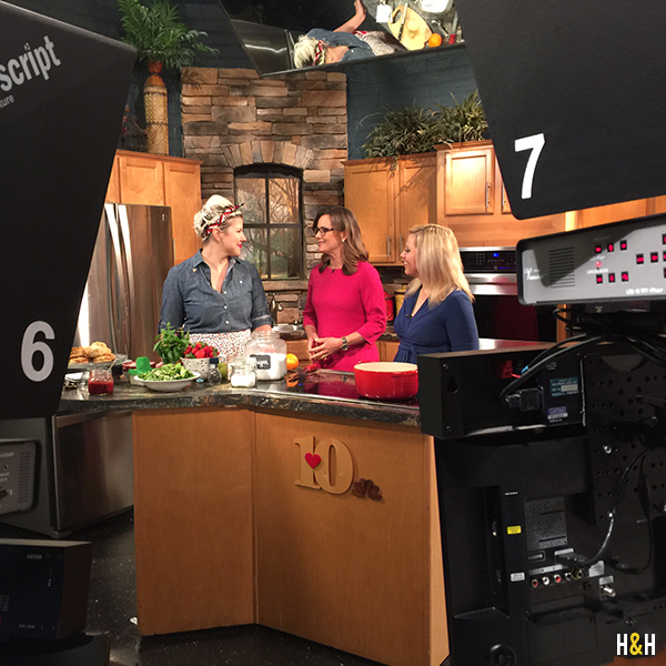 Talking Strawberries on Mornings with Fox 43 | Hannah & Husband