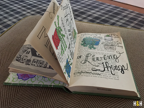 Reclaimed Book Project: Home | Hannah & Husband