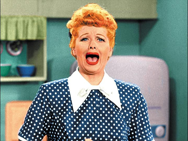 I Love Lucy, crying | The Blonde Commandments, Hannah & Husband