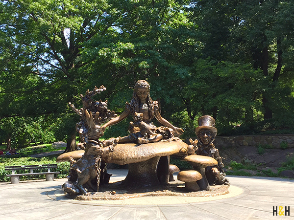 Alice in Wonderland Sculpture in Central Park | Lewis Carroll's  Photography Extraordinary on Hannah & Husband