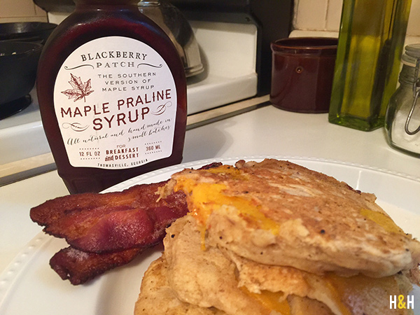 Blackberry Patch syrup from Thomasville, GA | Hannah & Husband