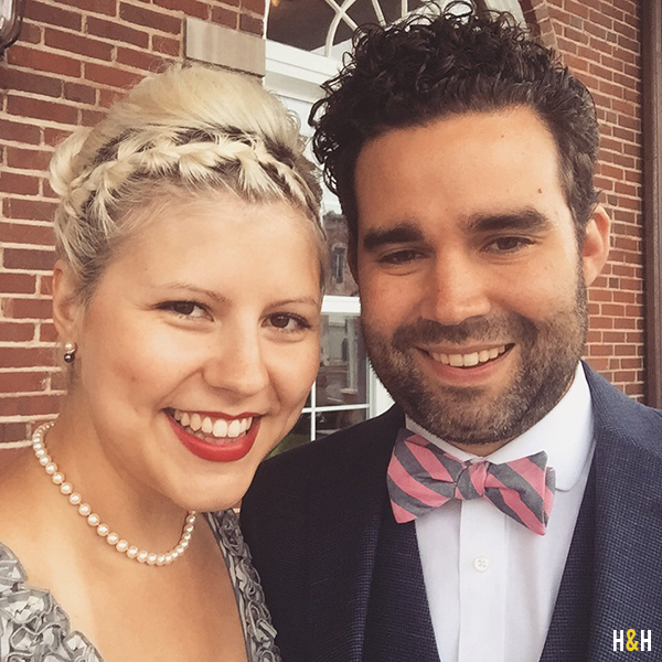 Wedding Selfie  | Hannah & Husband