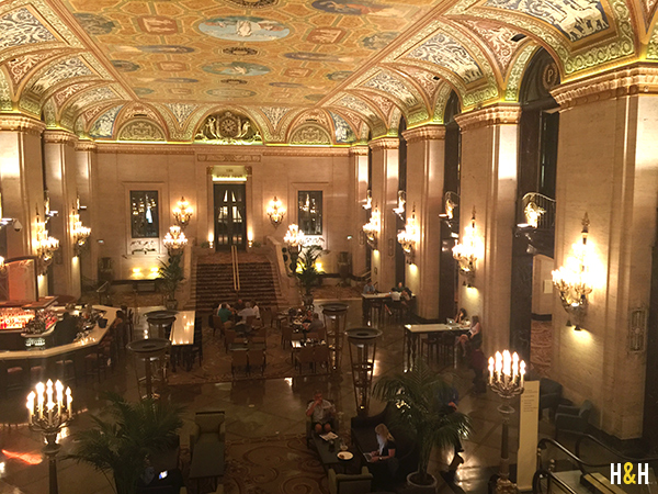 Palmer House, Our Favorite Places in Chicago | Hannah & Husband