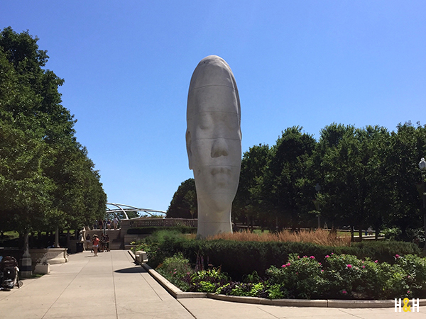 """Look Into My Dreams"" by Jaume Plensa 