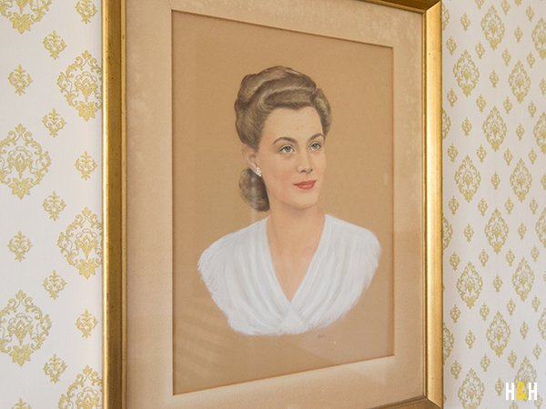 Portrait of Nancy Kerr by Elizabeth Kerr-Rike at Rivermont | Hannah & Husband