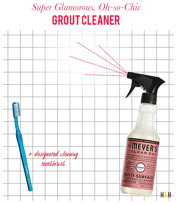 H&H Home Ec: Cleaning Grout | Hannah & Husband