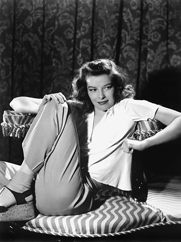 Katherine Hepburn at 30 | Hannah & Husband