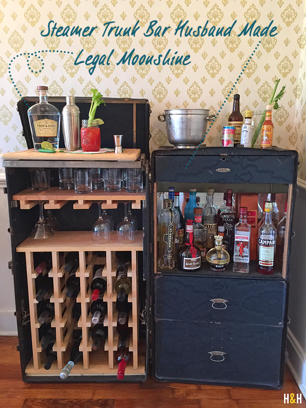 Bars & Moonshine | Hannah & Husband