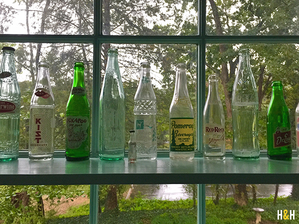 Husband's Childhood Bottle collection | Hannah & Husband