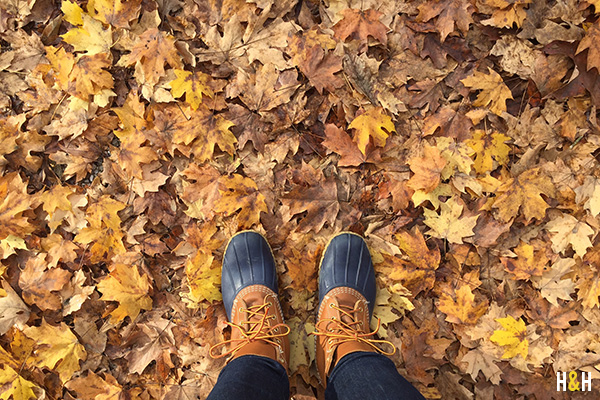 hannah-bean-boots-leaves