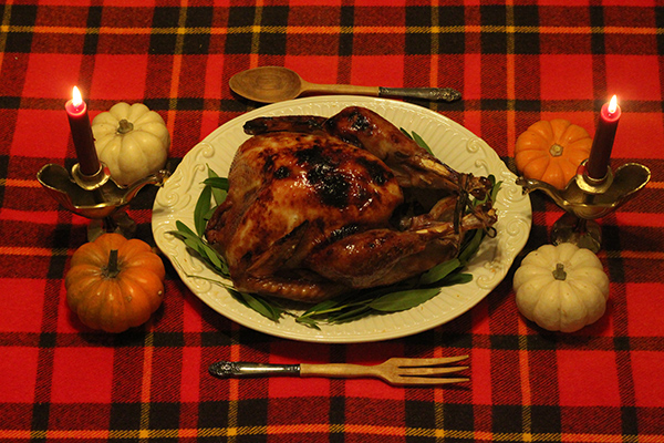 Stories from the Kitchen: Jess Marcum's Crisp Maple Glazed Roast Turkey | Hannah & Husband