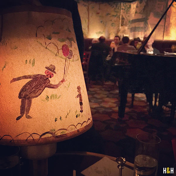 A snapshot from our last visit to Bemelmans Bar | Hannah & Husband